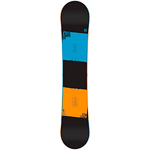 Nitro Snowboards Stance Wide All-Mountain Board schwarz/blau/orange