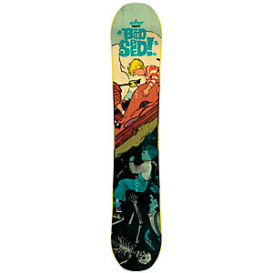 Nitro Snowboards Bad Seed Freestyle Board bunt