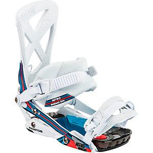 Nitro Snowboards Phantom Snowboardbindung weiß/blau/rot