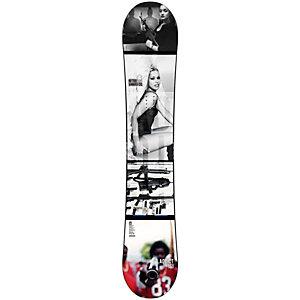 Nitro Snowboards Addict Freestyle Board schwarz/weiß
