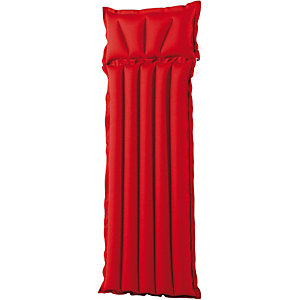 royalbeach Gewebematte Uni Luftmatraze rot