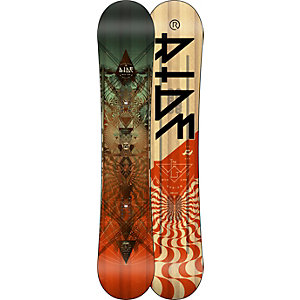 Ride Snowboards Wild Life All-Mountain Board Herren schwarz/rot