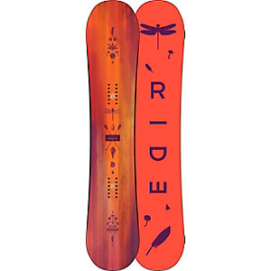 Ride Snowboards Baretta All-Mountain Board Damen rot/braun