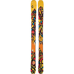 SCOTT Punisher Freestyle Ski gelb/braun