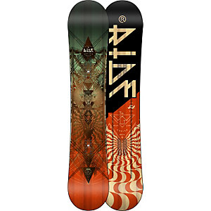 Ride Snowboards Wild Life Wide All-Mountain Board Herren schwarz/rot