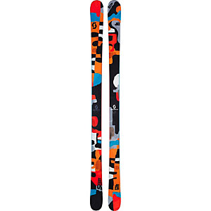 SCOTT Jib Freestyle Ski orange/schwarz