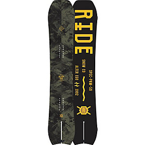Ride Snowboards Alter Ego Freestyle Board Herren schwarz/gelb