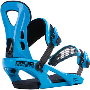 Ride Snowboards LX Snowboardbindung blau
