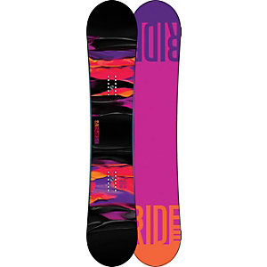 Ride Snowboards Compact 13/14 All-Mountain Board Damen schwarz/orange/lila