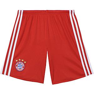adidas FC Bayern München Heimshorts 2014/15 Kinder rot