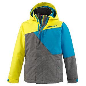 ziener akido skijacke jungen gelb blau grau im online shop von sportscheck kaufen. Black Bedroom Furniture Sets. Home Design Ideas