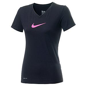 Nike T-Shirt Damen schwarz