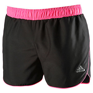 adidas Laufshorts Mädchen schwarz/pink