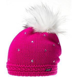 Eisbär Moonlight Lux Glitter Beanie Damen pink