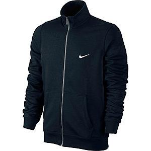 Nike Club Track Jacket Sweatshirt Herren schwarz