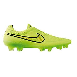 Nike TIEMPO LEGEND V FG Fußballschuhe Herren neongelb/rot