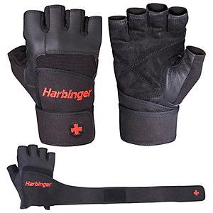 Harbinger Pro Wrist Wrap Fitnesshandschuhe schwarz