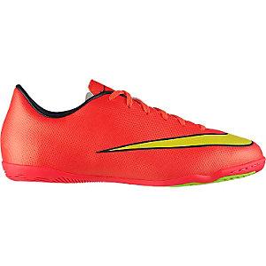 Nike MERCURIAL VICTORY V IC JR Fußballschuhe Kinder neonrot