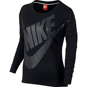 Nike Langarmshirt Damen schwarz