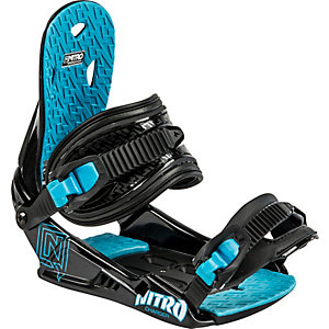Nitro Snowboards Charger Snowboardbindung Kinder schwarz/blau