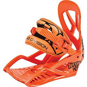 Nitro Snowboards D.I.Y. Snowboardbindung Kinder orange
