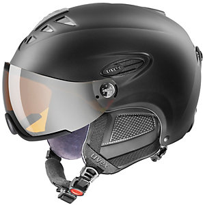 Uvex 300 Visor Skihelm schwarz