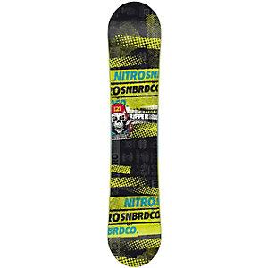 Nitro Snowboards Ripper 11/12 Freestyle Board Kinder schwarz/grün