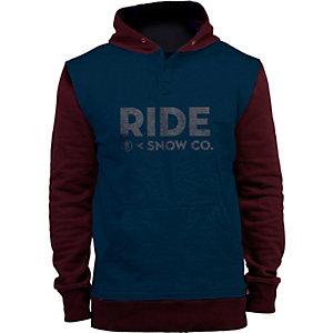 Ride Snowboards Logo Hoodie Damen navy/schwarz