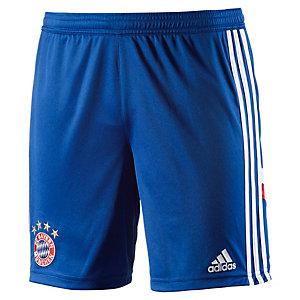 adidas FC Bayern Fußballshorts Kinder blau