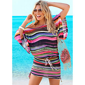 Buffalo Oversize Shirt Damen bunt gestreift