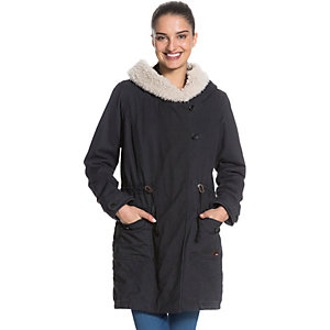 Roxy Stay Kapuzenjacke Damen anthrazit
