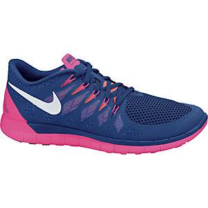Nike Free 5.0 Blau Pink Damen