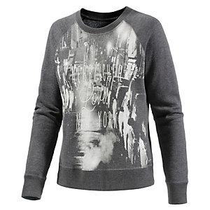 Herrlicher Sweatshirt Damen anthrazit