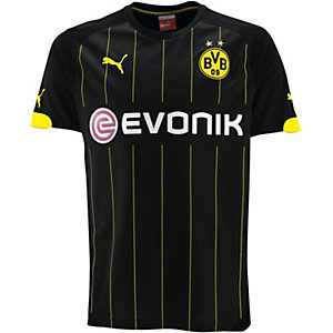 Puma Borussia Dortmund Auswärtstrikot 2014/15 Herren schwarz/gelb