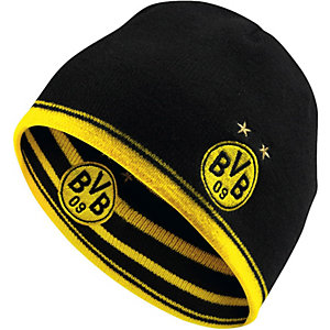 PUMA BVB Beanie gelb/schwarz