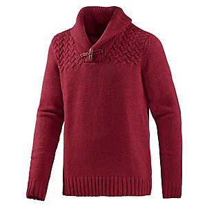 TOM TAILOR Strickpullover Herren rot