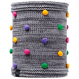 BUFF Loop Kinder grau/bunt