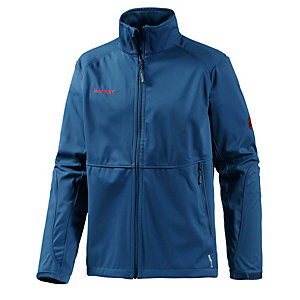 Mammut Ortler Advanced Softshelljacke Herren blau