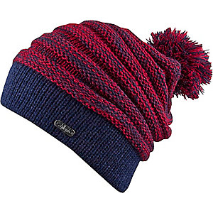 Chillouts Samuel Beanie navy/rot