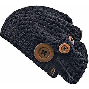 Chillouts Nelly Beanie Damen black
