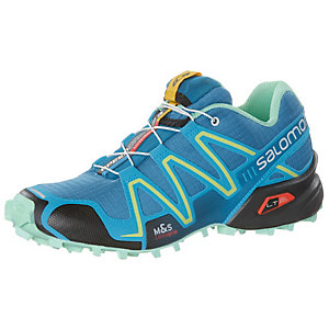 Salomon SPEEDCROSS 3 Laufschuhe Damen blau/mint