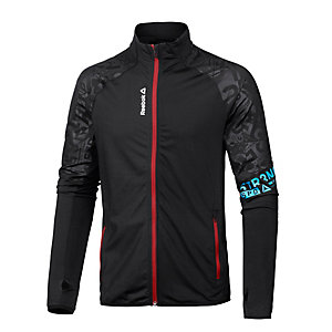 Reebok One Series TRK Trainingsjacke Herren schwarz