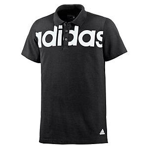 adidas Lineage Poloshirt Herren schwarz