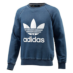 adidas Denim FT Sweatshirt Herren jeans
