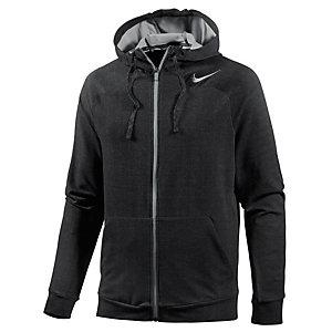 Nike Dri-Fit Touch Kapuzenjacke Herren schwarz