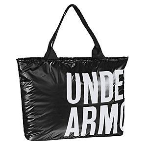 Under Armour UA Shimmer Tote Sporttasche Damen schwarz/weiß