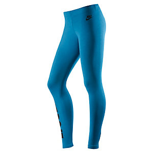 Nike LEG A SEE JUST DO IT Leggings Damen blau