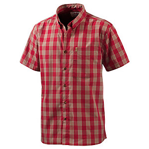FJÄLLRÄVEN Övik Button Down Outdoorhemd Herren rot