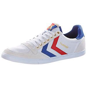 hummel Slimmer Stadil Sneaker Herren weiß/blau/rot
