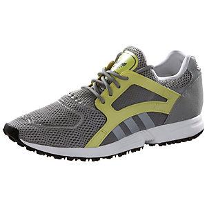 adidas Racer Lite Fitnessschuhe Damen anthrazit/neongelb